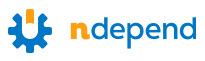 NDepend logo, static analysis tool for .NET
