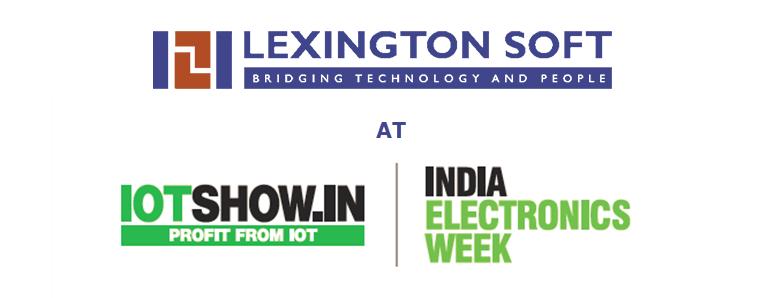 Lexington Soft at IOTshow.in | India Electronics Week
