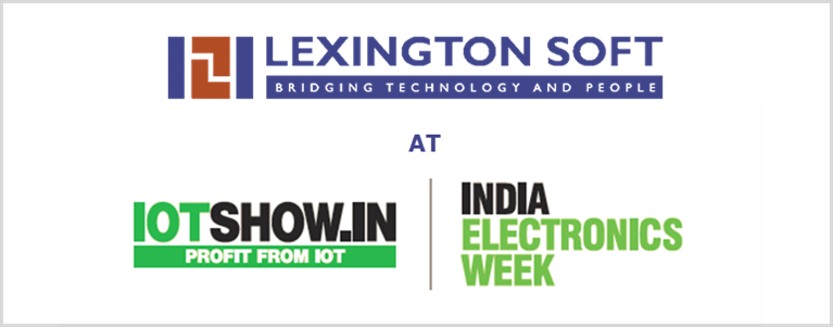 Lexington Soft at IOTshow.in | India Electronics Week