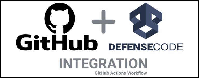 DefenseCode GitHub integration