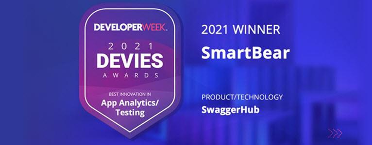 SwaggerHub wins DEVIES Award
